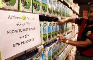 Türk malları çürümeye bırakıldı