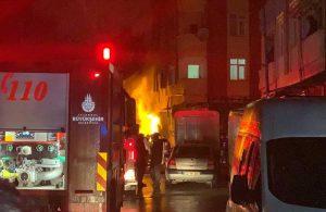 Tuzla'da doğalgaz patlaması! Patlama anı kameralara böyle yansıdı