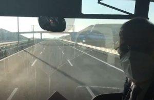 Faik Öztrak, Nevşehir yolundaki çarpıcı detayı paylaştı