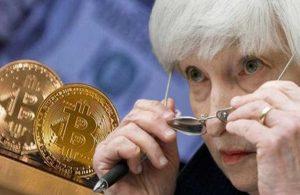 """ABD Hazine Bakanı Yellen'dan 'Bitcoin' uyarısı: """"verimsiz ve spekülatif"""""""