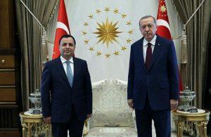 AKP'li Cumhurbaşkanı Erdoğan, AYM Başkanı Zühtü Arslan ile görüştü