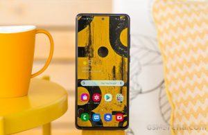 Galaxy Note 10 Lite Android 11 tabanlı One UI 3.1 güncellemesini alacak