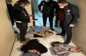 Ankara'da 'Yarasa kız' operasyonu
