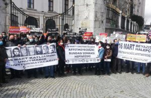 Beyazıt'ta 16 Mart anması: Ne katliamları ne de gerçekleştirenleri unutmayacağız