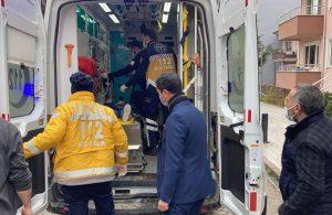 Okulun camından düşen öğrenci yaralandı