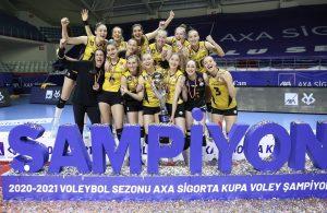 VakıfBank, 7'nci kez Kupa Voley şampiyonu