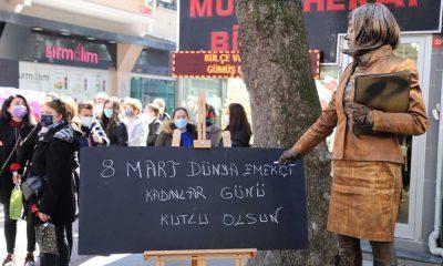Dünya Kadınlar Günü Kartal'da tüm gün süren etkinlikler ile kutlandı