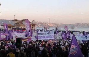Kadınlar eylemde: İstanbul Sözleşmesi'ni uygulatacağız