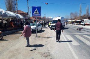 Muğla'da otomobille çarpışan motosiklet sürücüsü hayatını kaybetti