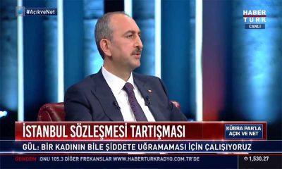 Adalet Bakanı Gül'ün 8 Mart'ta yaptığı 'İstanbul Sözleşmesi' açıklaması gündem oldu