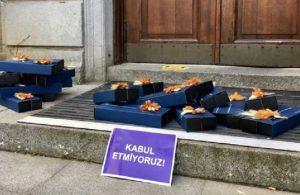 Kadın akademisyenler, Melih Bulu'nun 8 Mart hediyelerini iade etti