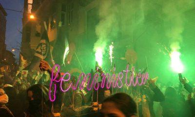 Kadınlar dünyayı yerinden oynatıyor: 8 Mart Feminist Gece Yürüyüşü Karaköy'de!