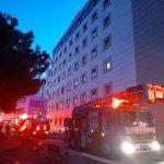 Zeynep Kamil Hastanesi'nde yangın: Hastalar tahliye edildi(1)