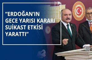 Meclis'te Erdoğan'a istifa ve seçim çağrısı