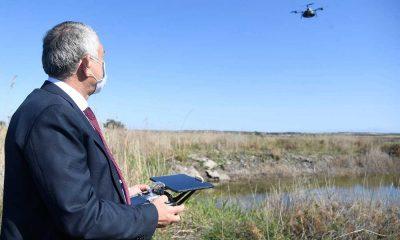 Sivrisinekle mücadelede dronla ilaçlama yöntemi