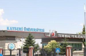 Kayseri Üniversitesi Rektörürü'nü lüks araç sevdası