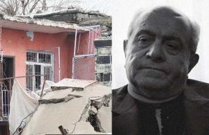Ahmed Arif'in Diyarbakır'daki yıkılmış evi ortaya çıktı