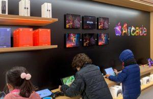 Apple mağazaların işleyişi şaşırtmadı