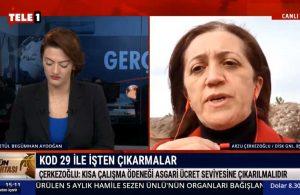 Arzu Çerkezoğlu: Kısa çalışma ödeneği bir can suyuydu