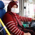 Burdur'un ilk ve tek kadın halk otobüsü şoförü: Kadın isterse her işi başarıyla yapabilir