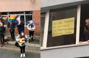 Boğaziçililerden ev hapsindeki arkadaşlarına destek