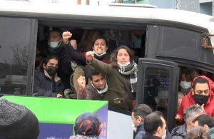 Boğaziçi Üniversitesi öğrencilerine Çağlayan'da polis müdahalesi