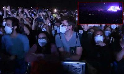 Barcelona'da konser deneyi: Binlerce kişi katıldı