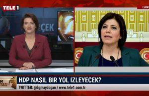 HDP'li Meral Danış Beştaş: Halkımıza söz veriyoruz, bu mücadelen vazgeçmeyeceğiz – GÜN ORTASI