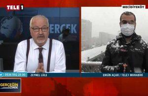 İstanbul'da 'lapa lapa' kar yağışı – GERÇEĞİN İZİNDE