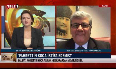 Mustafa Balbay'dan kulis bilgisi: Fahrettin Koca hakkında haftada bir… – GÜN ORTASI