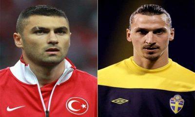 Hakan Çalhanoğlu'na zor soru: Ibrahimovic mi, Burak Yılmaz mı?