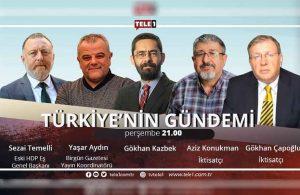Sezai Temelli, bu akşam saat 21.00'de Türkiye'nin Gündemi'nde!