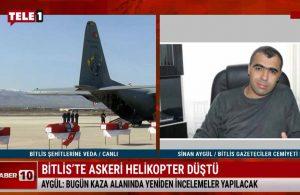 Bitlis Gazeteciler Cemiyeti Başkanı Aygül, kazayla ilgili bilgiler verdi – HABER10