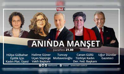Anında Manşet, saat 21.00'de TELE1'de!