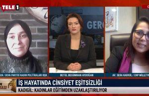 CHP'li Kadıgil ve Deva Partisi Kadın Politikaları Başkanı Esen'den, 8 Mart Dünya Kadınlar Günü değerlendirmesi – GÜN ORTASI