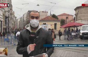 TELE1 Muhabiri Engin Açar, İstiklâl Caddesi'ndeki durumu aktardı – GÜN ORTASI
