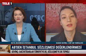 CHP AB Temsilcisi Sevinç: Avrupa bir kez daha Erdoğan'a güvenilmeyeceğini gördü – GÜN ORTASI