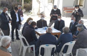 Başkan Bozdoğan, güne köyleri ziyaret ederek başladı