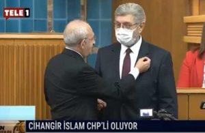 Cihangir İslam CHP'li oldu