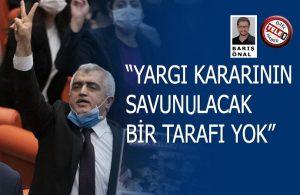 Gergerlioğlu: Muhalefeti yok etmek istiyorlar!