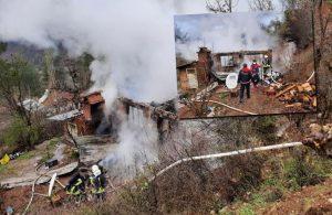 Elektriği kesilen çiftçi sinirlenip evini yaktı