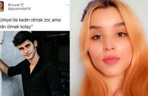 Eren Yıldız tarafından öldürülen Gizem'in kadınlarla ilgili paylaşımları ortaya çıktı