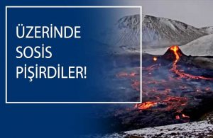 800 yıl sonra harekete geçmişti: Yanardağ ziyaretçi akını yaşandı!