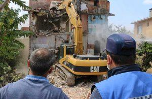 Kartal'da önce asbest sonra yıkım