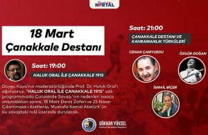 Kartal Belediyesi'nden Çanakkale Zaferi'nin 106. yıl dönümüne özel etkinlikler