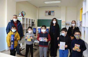 Kartal Belediyesi'nden Hesna Gündeş İlkokulu'na kitap bağışı