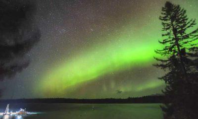 Kuzey Işıkları'nın eşsiz dansı kamerada