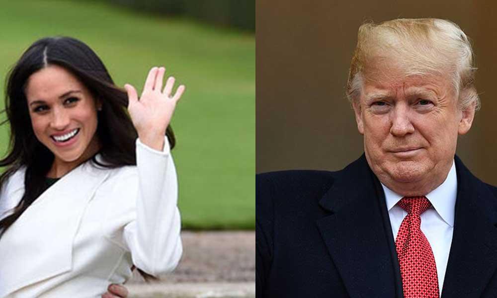 Trump: Meghan Markle başkanlığa aday olursa yarışa girebilirim