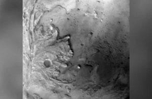NASA Mars'a iniş anına ilişkin yeni görüntüleri paylaştı