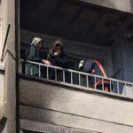 Mersin'de yangın paniği: 3'ü çocuk 7 kişi kurtarıldı